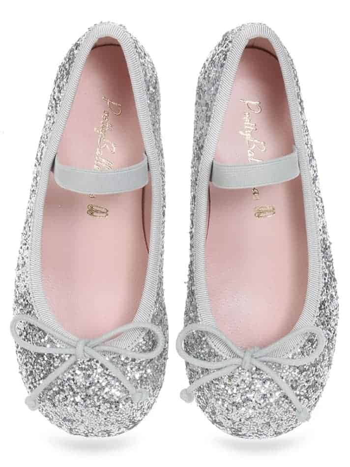 Silver Sparkle Heel|כסף|נעלי עקב לילדות|עקבים|עקב|Heels