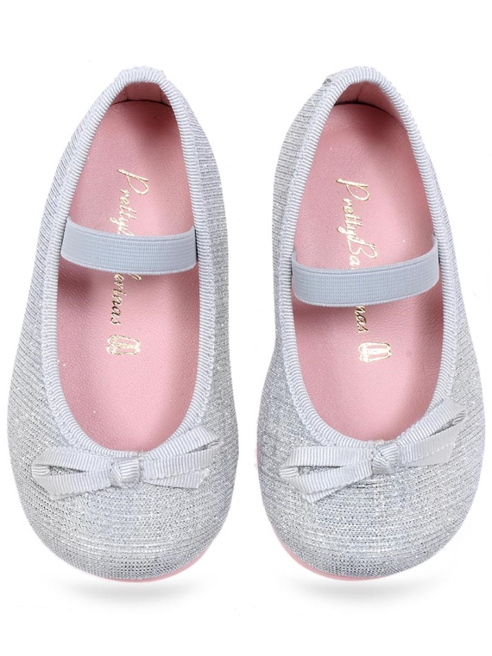 Guadalupe|לבן|ילדות| בלרינה|נעלי בלרינה לילדות|נעלי בלרינה
