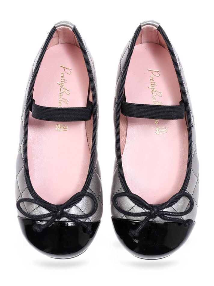 Camila|שחור|נעלי בובה|נעלי בלרינה|נעליים שטוחות|נעליים נוחות|ballerinas