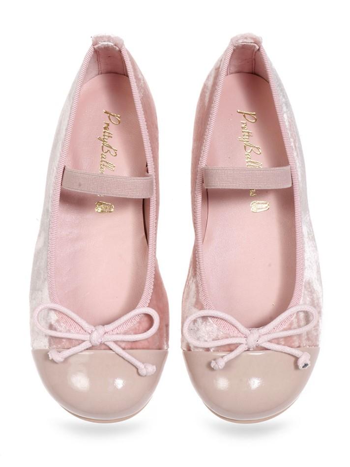 Aubrey|ורוד|נעלי בובה|נעלי בלרינה|נעליים שטוחות|נעליים נוחות|ballerinas
