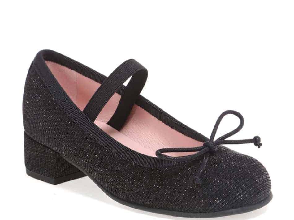 Sparkly Night|שחור|נעלי עקב לילדות|עקבים|עקב|Heels
