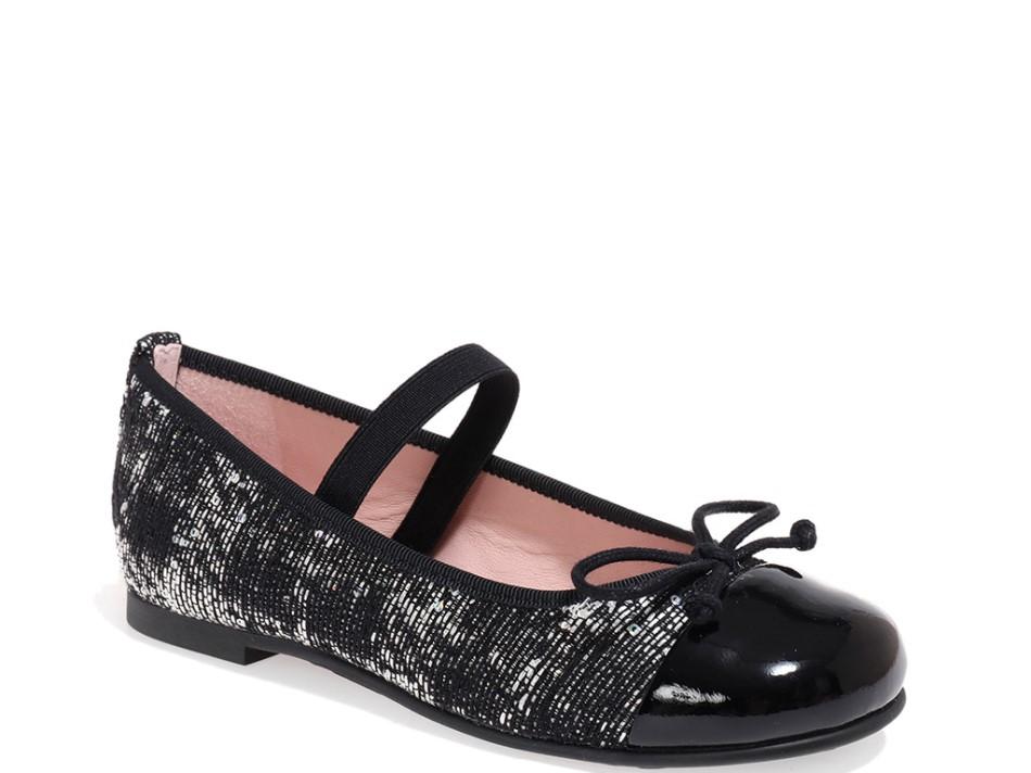 Stella|שחור|לבן|אפור|נעלי בובה|נעלי בלרינה|נעליים שטוחות|נעליים נוחות|ballerinas
