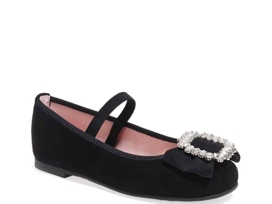 Violet|שחור|נעלי בובה|נעלי בלרינה|נעליים שטוחות|נעליים נוחות|ballerinas