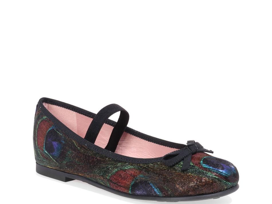 Sophia|כחול|ירוק|צהוב|נעלי בובה|נעלי בלרינה|נעליים שטוחות|נעליים נוחות|ballerinas