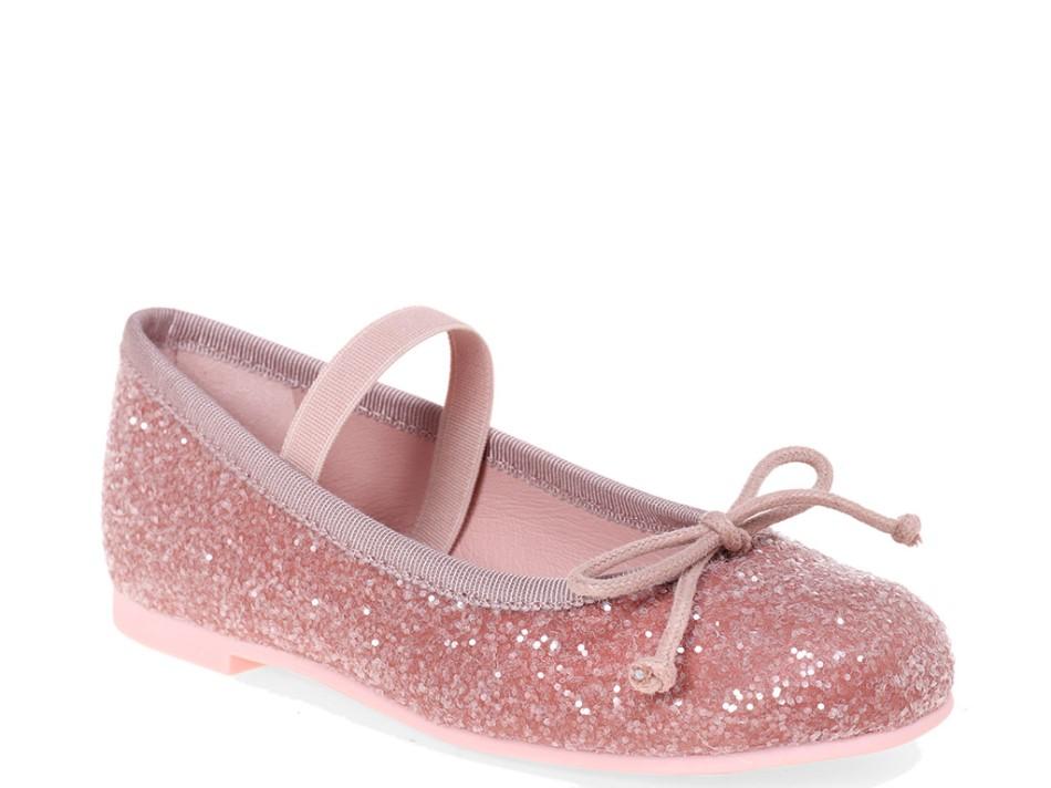 Fumiko|ורוד|ילדות| בלרינה|נעלי בלרינה לילדות|נעלי בלרינה