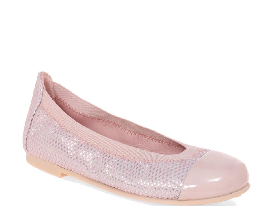 Ichika|ורוד|ילדות| בלרינה|נעלי בלרינה לילדות|נעלי בלרינה