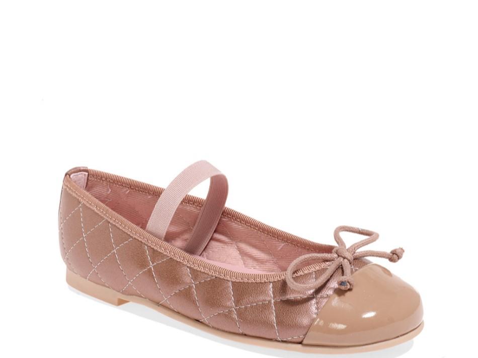Evelyn|ורוד|נעלי בובה|נעלי בלרינה|נעליים שטוחות|נעליים נוחות|ballerinas