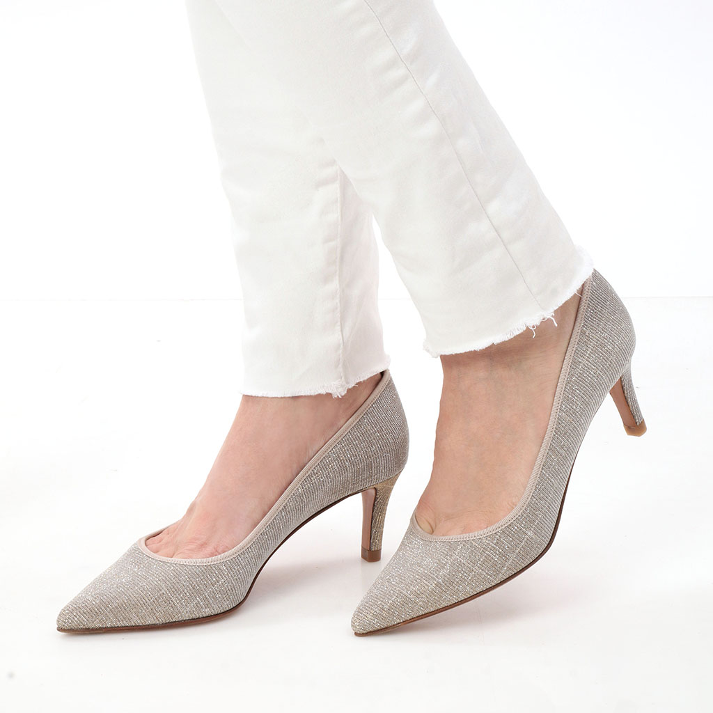 Mallory כסף עקב נעלי עקב Heels
