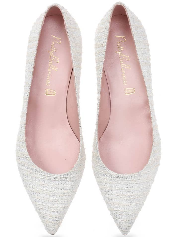 Plata Heel|כסף|לבן|עקב|נעלי עקב|Heels