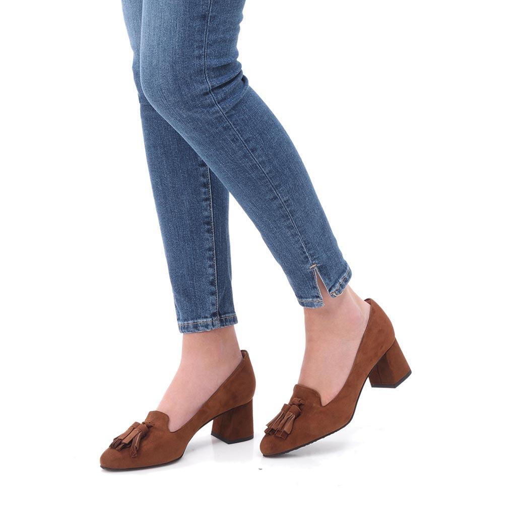 Nicole חום עקב נעלי עקב Heels