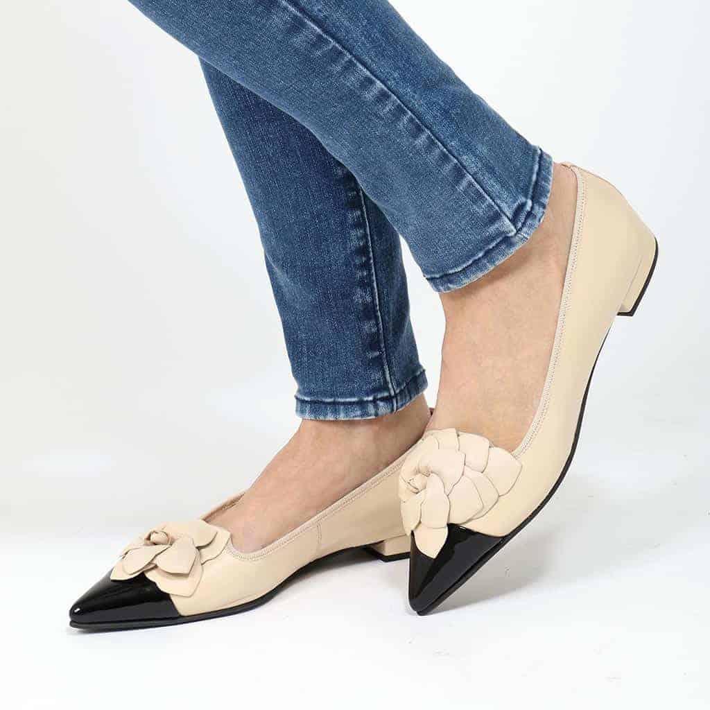 Think Flower|שחור|חום|ניוד|עקב|נעלי עקב|Heels
