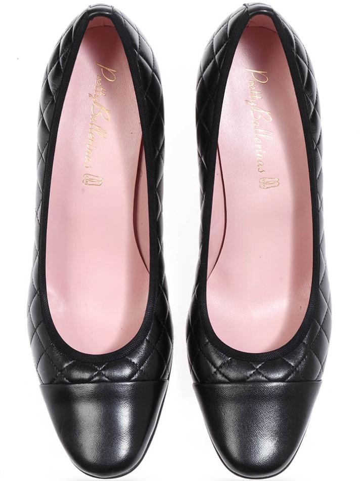 Selena|שחור|עקב|נעלי עקב|Heels