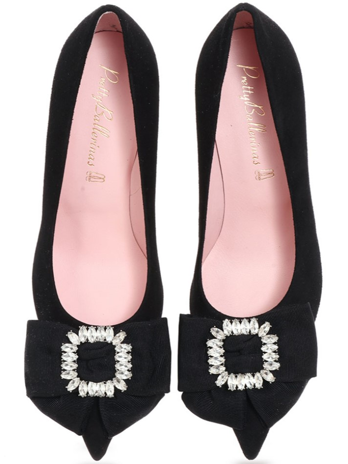 Heliconia|שחור|עקב|נעלי עקב|Heels