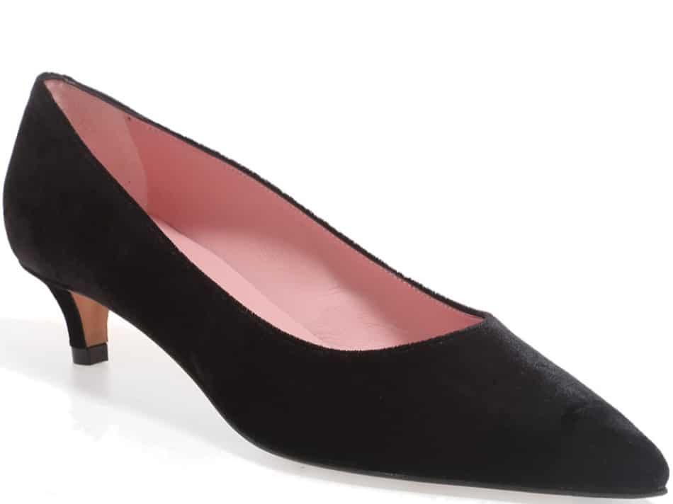 On Point|שחור|עקב|נעלי עקב|Heels