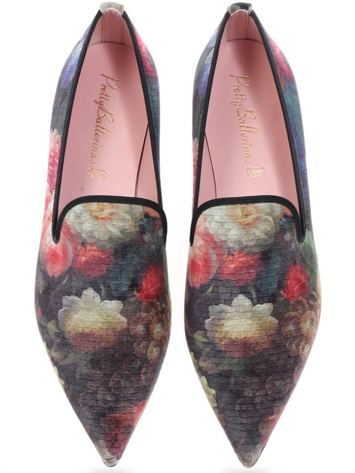 Callie|כחול|ירוק|אדום|נעלי בובה|נעלי בלרינה|נעליים שטוחות|נעליים נוחות|ballerinas