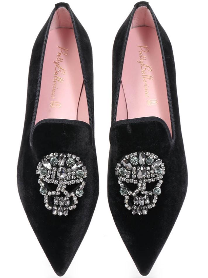 Gracie|שחור|נעלי בובה|נעלי בלרינה|נעליים שטוחות|נעליים נוחות|ballerinas