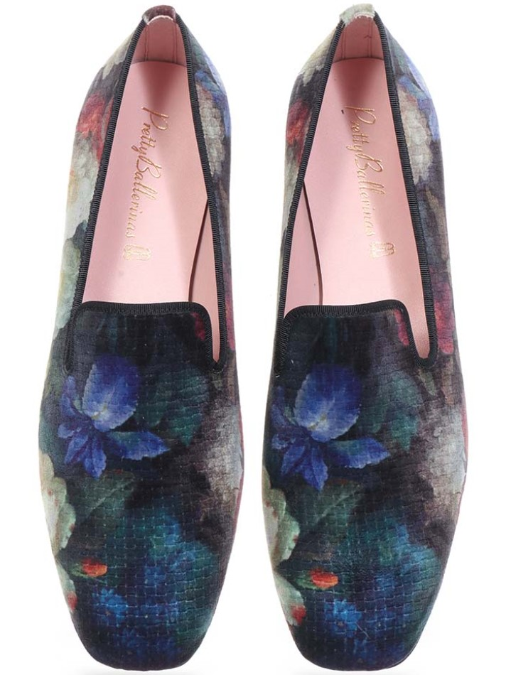 Alaina|כחול|ירוק|אדום|נעלי בובה|נעלי בלרינה|נעליים שטוחות|נעליים נוחות|ballerinas