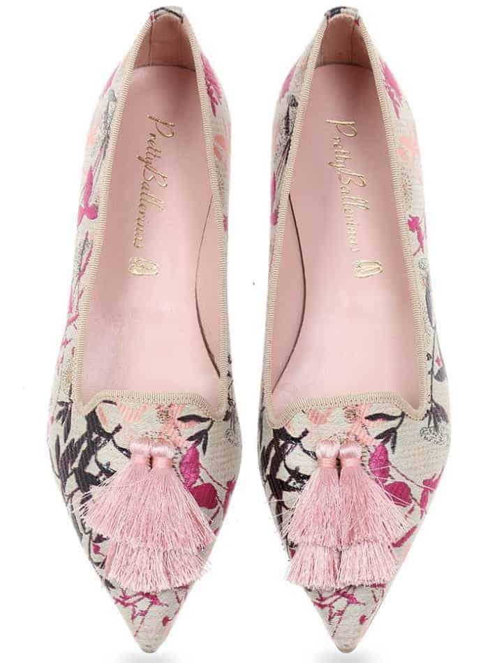 Raijin|ורוד|ניוד|נעלי בובה|נעלי בלרינה|נעליים שטוחות|נעליים נוחות|ballerinas