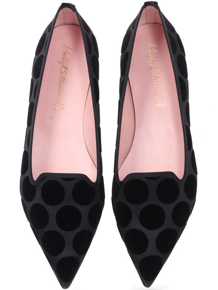Hayden|שחור|ורוד|חום|נעלי בובה|נעלי בלרינה|נעליים שטוחות|נעליים נוחות|ballerinas