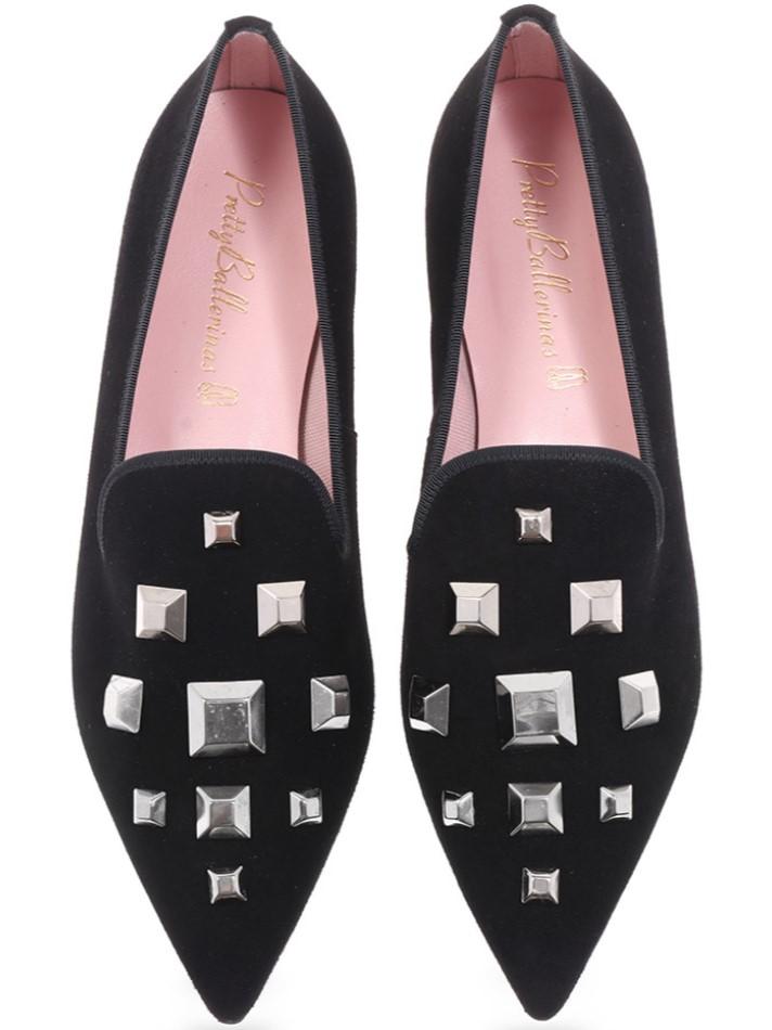 Kenzie|שחור|נעלי בובה|נעלי בלרינה|נעליים שטוחות|נעליים נוחות|ballerinas