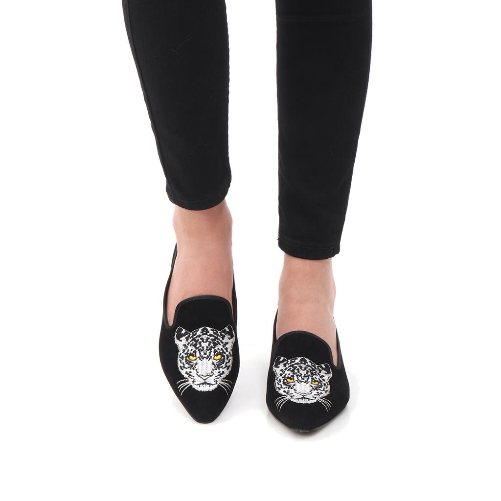 Lennon|שחור|נעלי בובה|נעלי בלרינה|נעליים שטוחות|נעליים נוחות|ballerinas