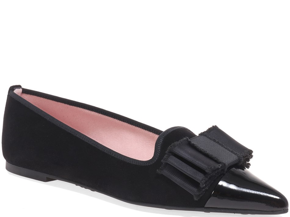 Amanda|שחור|נעלי בובה|נעלי בלרינה|נעליים שטוחות|נעליים נוחות|ballerinas