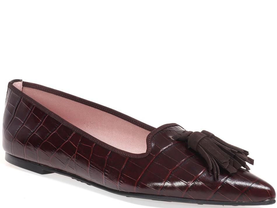 Kinley|חום|נעלי בובה|נעלי בלרינה|נעליים שטוחות|נעליים נוחות|ballerinas