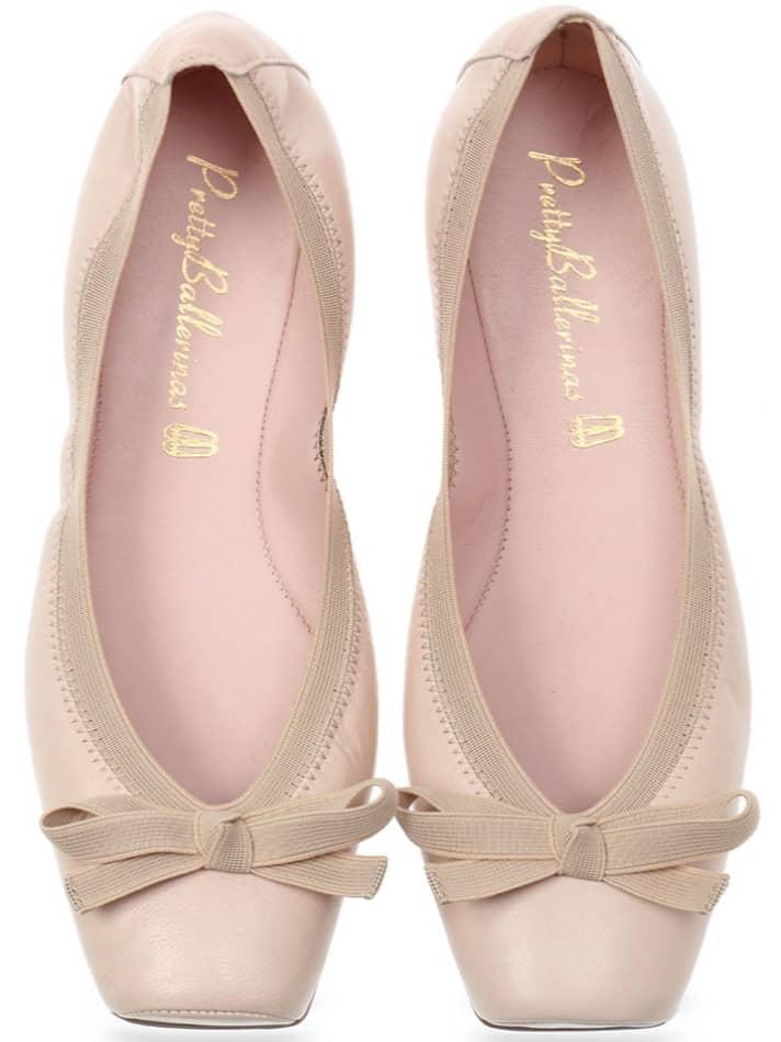Classic Pink Point|זהב|נעלי בובה|נעלי בלרינה|נעליים שטוחות|נעליים נוחות|ballerinas