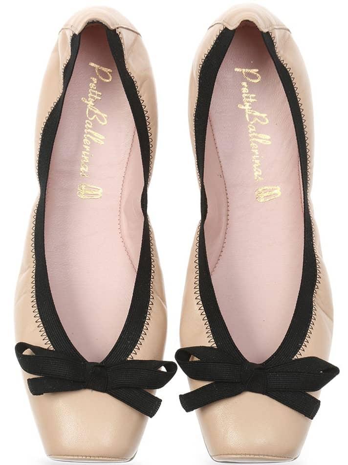 Classic Coco Point|חום|ניוד|נעלי בובה|נעלי בלרינה|נעליים שטוחות|נעליים נוחות|ballerinas