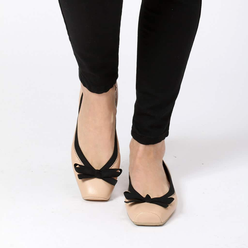 Classic Coco Point חום ניוד נעלי בובה נעלי בלרינה נעליים שטוחות נעליים נוחות ballerinas