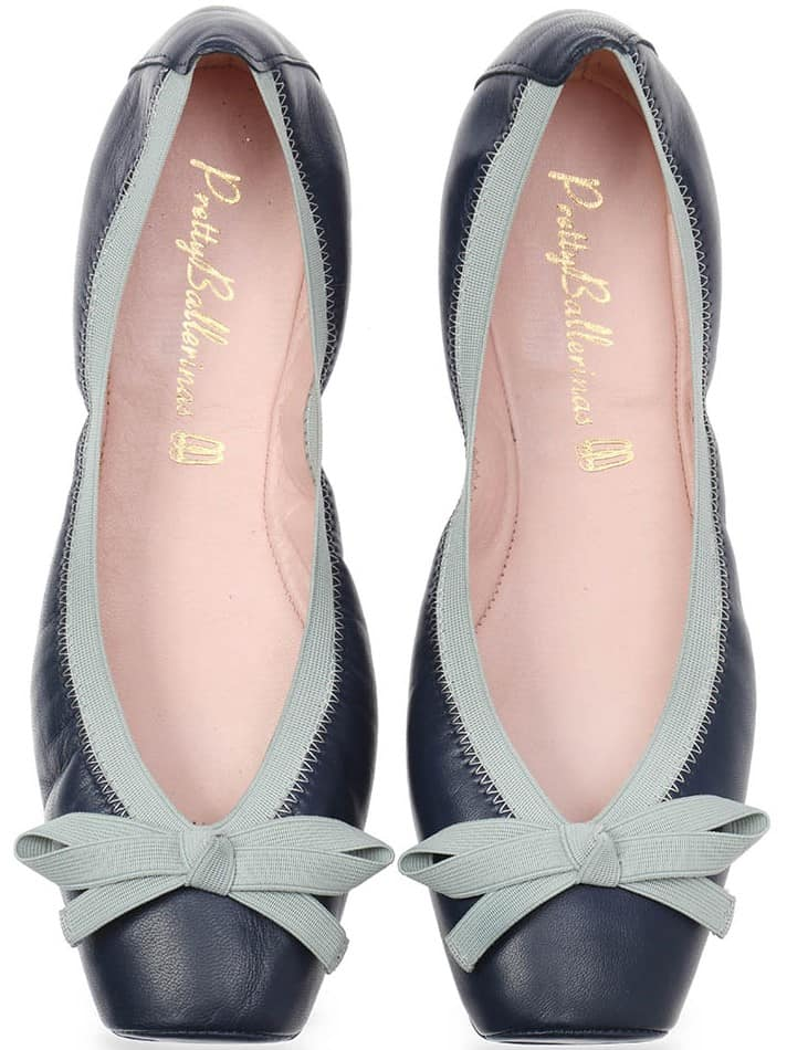 Classic Blue Point|כחול|נעלי בובה|נעלי בלרינה|נעליים שטוחות|נעליים נוחות|ballerinas