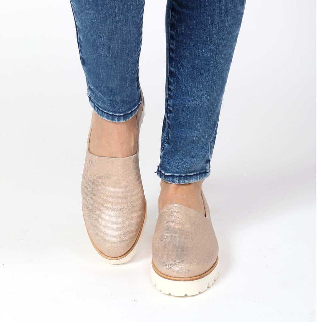 Charlene|ניוד|נעלי בובה|נעלי בלרינה|נעליים שטוחות|נעלי פלטפורמה|ballerinas