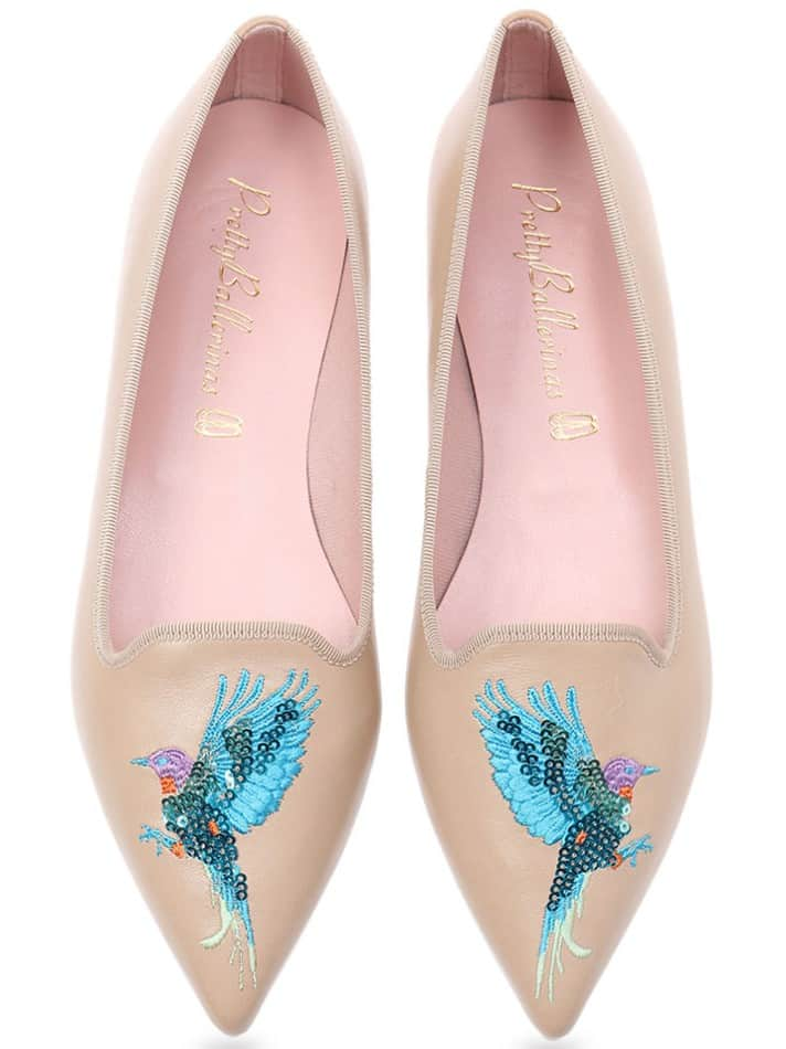 Sunshine Parrot|חום|ניוד|נעלי בובה|נעלי בלרינה|נעליים שטוחות|נעליים נוחות|ballerinas