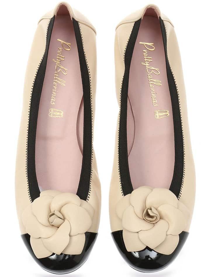 Earth|שחור|חום|ניוד|נעלי בובה|נעלי בלרינה|נעליים שטוחות|נעליים נוחות|ballerinas