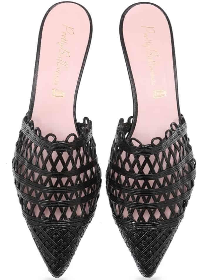 Night Weave|שחור|כפכפים|כפכפים לנשים|עקב|עקבים|Heels