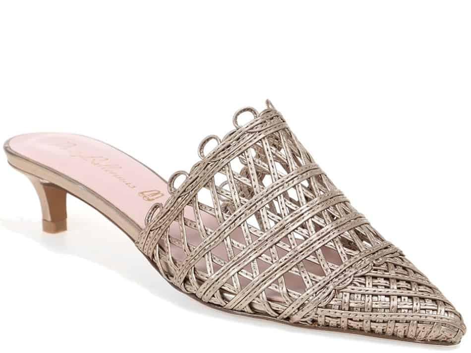Dream Weave|זהב|כפכפים|כפכפים לנשים|עקב|עקבים|Heels