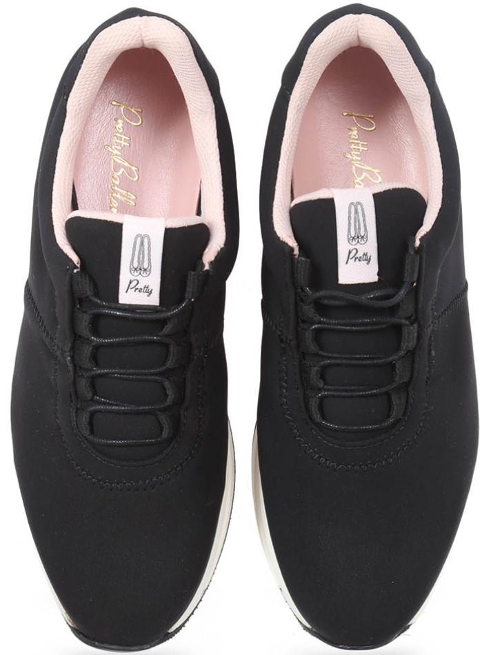 Black Pop|שחור|סניקרס|סניקרס לנשים|נעליים שטוחות