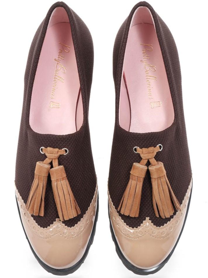 Lauren|כאמל|חום|נעל|נעליים|shoes