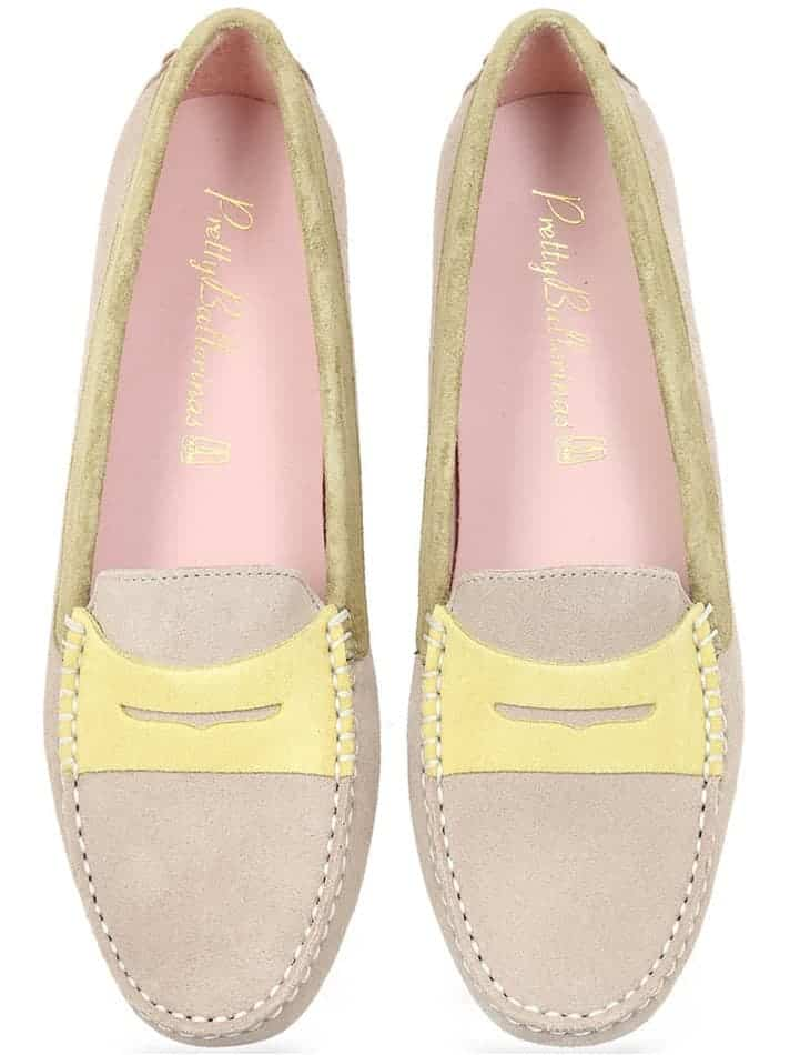 Earth Tricolor|חום|צהוב|מוקסין|מוקסינים|נעליים שטוחות|moccasin