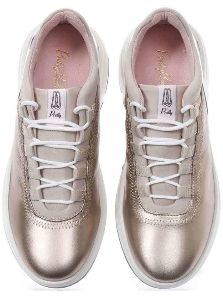 Golden Sneakers|זהב|כאמל|סניקרס|סניקרס לנשים|נעליים שטוחות