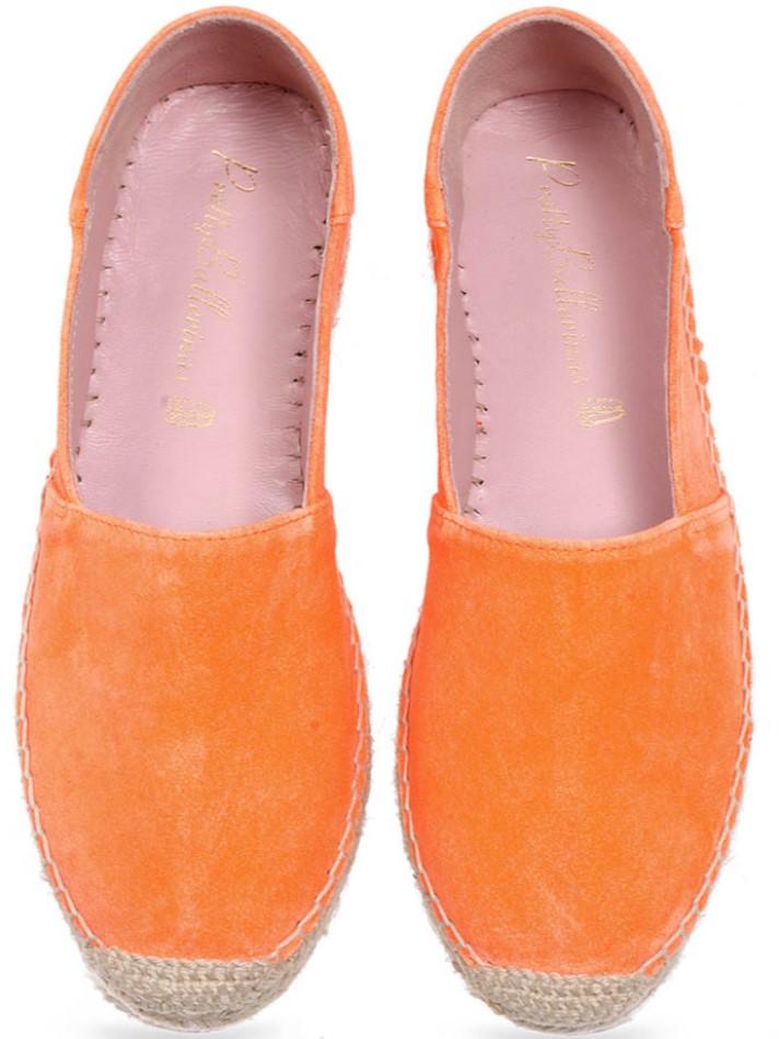 Didiscus|כתום|אספדריל|נעליים|נעליים שטוחות|shoes|espadrille