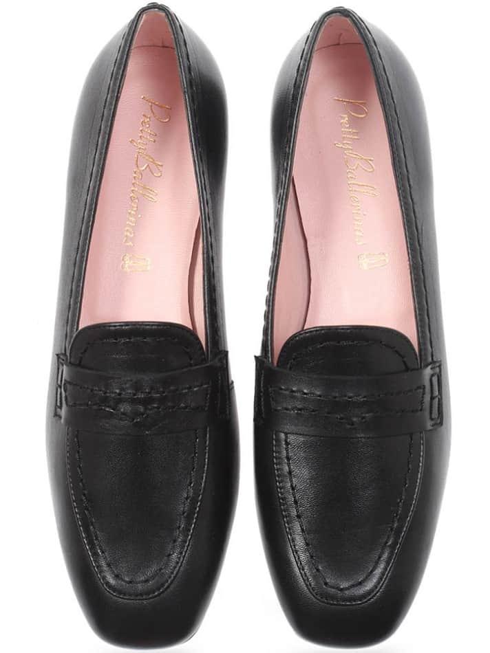 Walk On Water|שחור|מוקסין|מוקסינים|נעליים שטוחות|moccasin