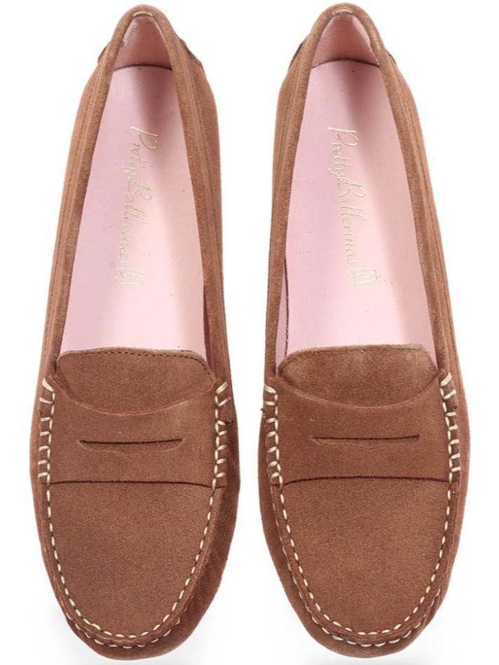 Angela|חום|מוקסין|מוקסינים|נעליים שטוחות|moccasin