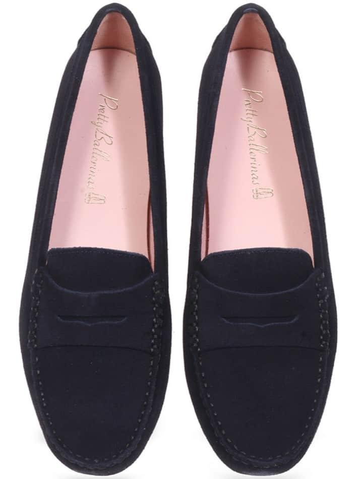 Elaina|כחול|מוקסין|מוקסינים|נעליים שטוחות|moccasin