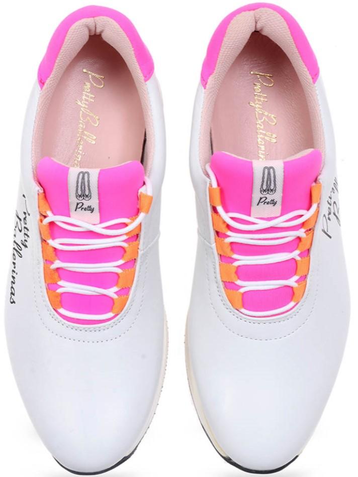 Shasta|לבן|ורוד|סניקרס|סניקרס לנשים|נעליים שטוחות