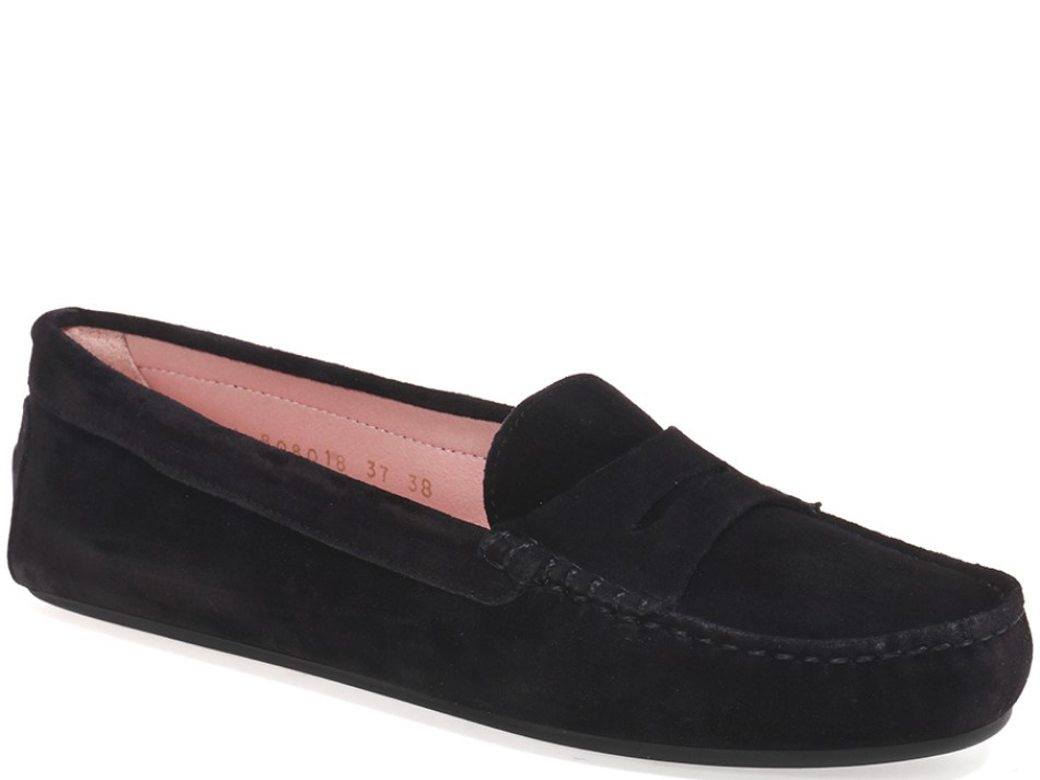 Kamila|שחור|מוקסין|מוקסינים|נעליים שטוחות|moccasin